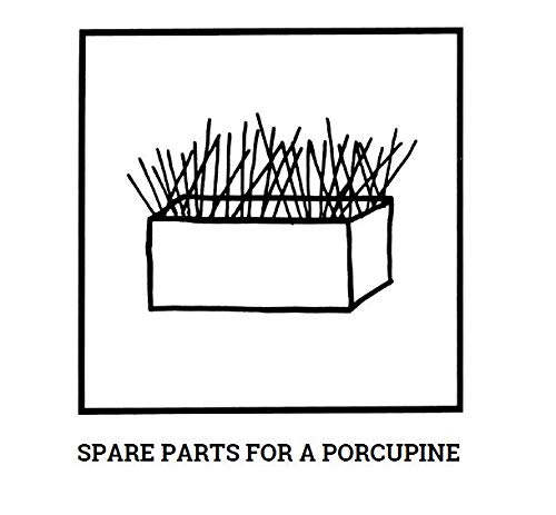 Droodles-spare-parts-for-a-porcupine