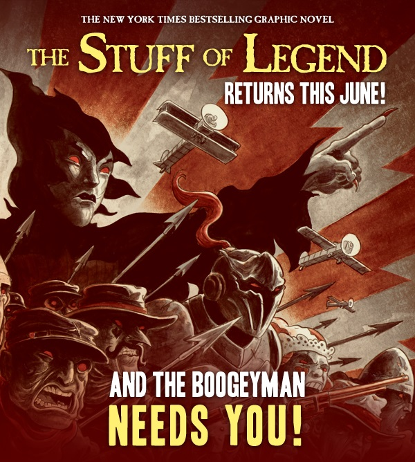 Stuff of Legend-call to arms